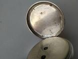 Карманные часы Cylindre серебро, фото №5