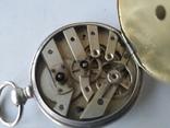 Карманные часы Cylindre серебро, фото №6