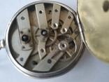 Карманные часы Cylindre серебро, фото №10