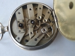 Карманные часы Cylindre серебро, фото №11
