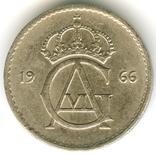 10 эре 1966 Швеция, фото №3
