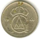 50 эре 1964 Швеция, фото №3