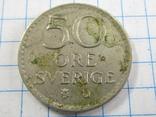 50 эре 1964 Швеция, фото №4
