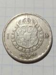1 крона 1946 Швеція срібло, фото №2