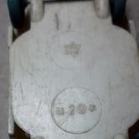 Машинка из прошлого 50-60-х годов СССР ПОЛТАВА Москвич (колкий пластик,клеймо), фото №6