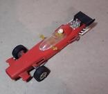 Гоночная машина Формула 1 1980-е СССР клемо Киевского з-да,длина 15 см., фото №3