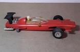 Гоночная машина Формула 1 1980-е СССР клемо Киевского з-да,длина 15 см., фото №7
