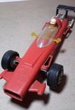 Гоночная машина Формула 1 1980-е СССР клемо Киевского з-да,длина 15 см., фото №4