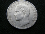 5 марок 1907 D Бавария, фото №3