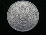 5 марок 1907 D Бавария, фото №5