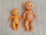 Куклы пупсы 2 шт, один на резинках, фото №3