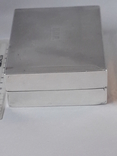 Коробка для сигарет, серебро, Великобритания, вес брутто 485 грамм, фото №3