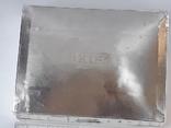 Коробка для сигарет, серебро, Великобритания, вес брутто 485 грамм, фото №6
