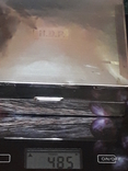 Коробка для сигарет, серебро, Великобритания, вес брутто 485 грамм, фото №12