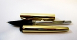 Перьевая ручка с иридиевым наконечником . Ручка с золотым пером ., фото №8