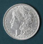 1 доллар 1900(О), фото №2
