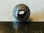 Подвеска шарм серебро, фото №4