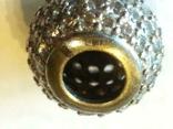Подвеска шарм серебро, фото №5