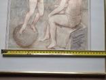 Ангел на шаре б./паст. 38х30 см., 2000г. В.Павлов. копия., фото №7