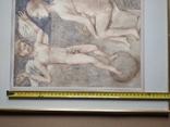 Ангел на шаре б./паст. 38х30 см., 2000г. В.Павлов. копия., фото №8