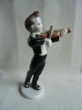 Юный скрипач Венгрия .Холохаза .Ручная роспись., фото №7