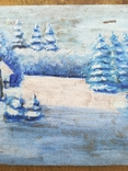 Картина зима, фото №4