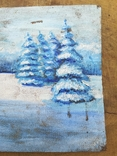 Картина зима, фото №5