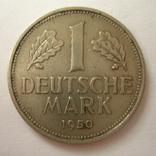 Германия. ФРГ 1 марки 1950 года.J, фото №2