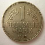 Германия. ФРГ 1 марки 1950 года.J, фото №3