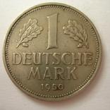 Германия. ФРГ 1 марки 1950 года.J, фото №4