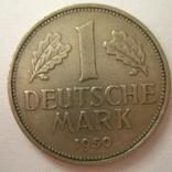 Германия. ФРГ 1 марки 1950 года.F, фото №2