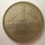 Германия. ФРГ 1 марки 1950 года.F, фото №3