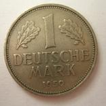 Германия. ФРГ 1 марки 1950 года.F, фото №4