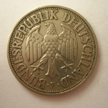 Германия. ФРГ 1 марки 1950 года.F, фото №7