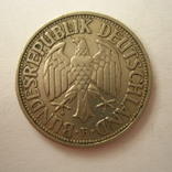 Германия. ФРГ 1 марки 1950 года.F, фото №8