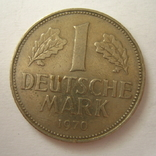 Германия. ФРГ 1 марки 1970 года.G, фото №2