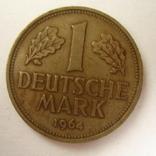 Германия. ФРГ 1 марки 1964 года.J, фото №3