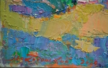 """Картина """"Ожидание"""" 2020 г. Художник Македонский П.И., фото №3"""