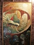,, Лестница в небо ,, сюрреализм масло,холст в раме 83х152, фото №4