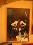 ,, Реквием ,, холст на картоне масло рамка 36х51, фото №3