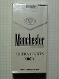Сигареты Manchester Ultra Lights 100mm мягкая пачка фото 2