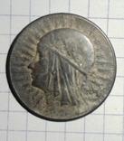 5 злотых 1933  серебро — Королева Ядвига, фото №3