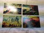 Комплект открыток Кунгурские пещеры. 15шт, фото №6
