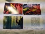 Комплект открыток Кунгурские пещеры. 15шт, фото №9