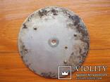Циферблат от карболитных часов d58 mm, фото №3