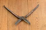 Footprint England Винтажные ножницы по металлу, фото №4