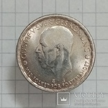"Швеция 1 крона 1947г серебро ""трещина штампа"", фото №2"