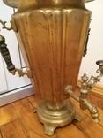 Самовар формы рюмка, с вертикальными ручками, фото №8