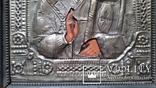 Ікона Микола Чудотворець, латунь, 31х26 см, фото №6