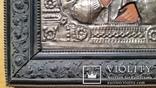 Ікона Микола Чудотворець, латунь, 31х26 см, фото №7